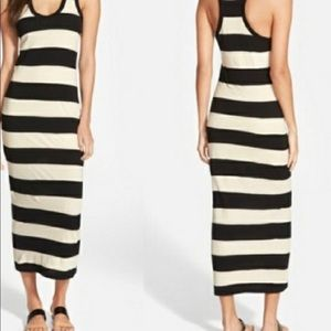 JAMES PERSE SIZE 4 or XL striped maxi dress